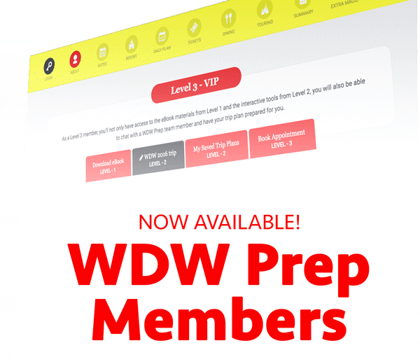 Become a WDW Prep Member!