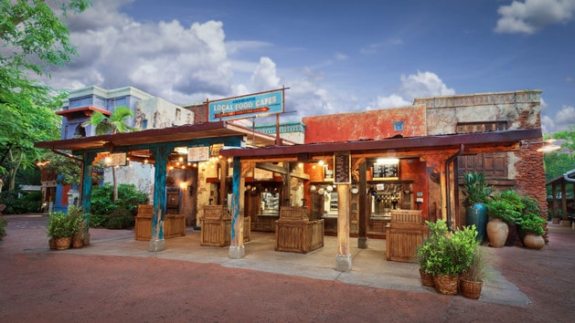The pros and cons of all Animal Kingdom restaurants - Yak and Yeti Local Cafe (lunch)