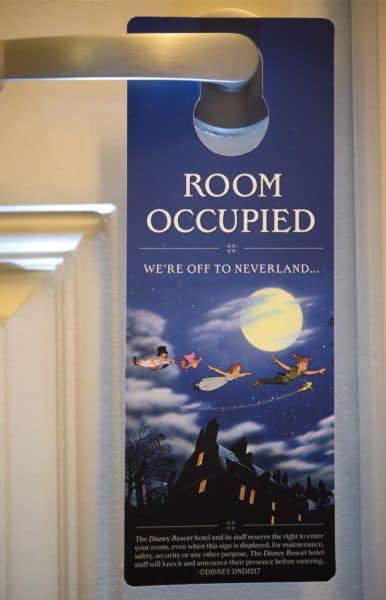 Room Occupied sign