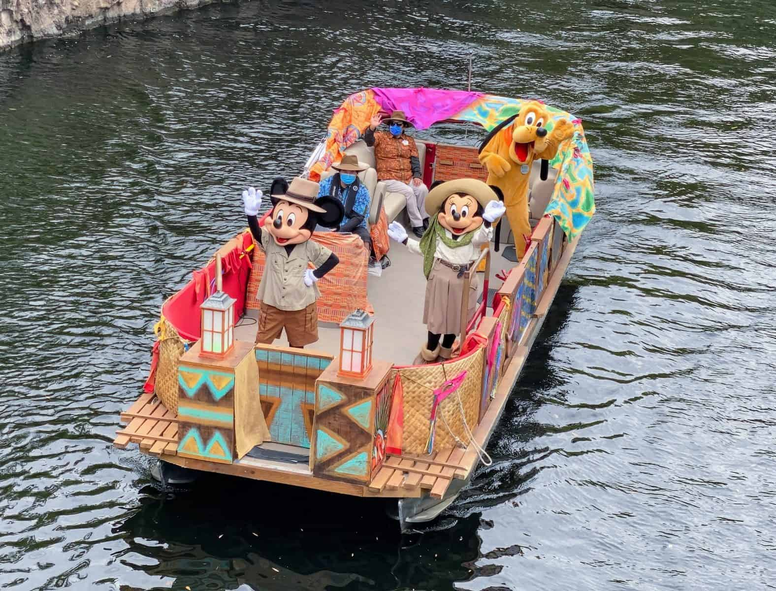 Mickey flotilla Animal Kingdom