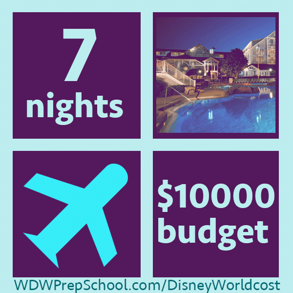 10000example1 - How much does it cost to go to Disney World? Example trips from $2,000-10,000.
