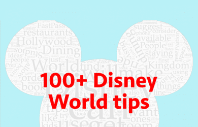 100disneyworldtipssquare 4 390x250 - 100+ tips for your Disney World trip