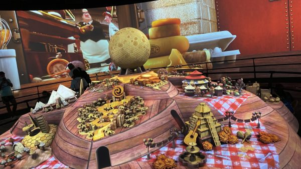 Remy's Ratatouille Adventure inside the Epcot Experience