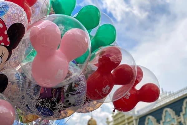 Mickey head balloons