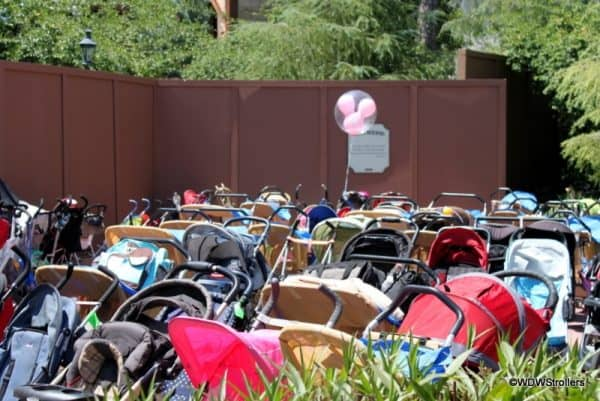 lotsofstrollers 600x401 - A trip plan for doing Disney World with toddlers