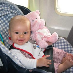 airplanebaby 300x300 - Finding the best flights for your Disney World trip