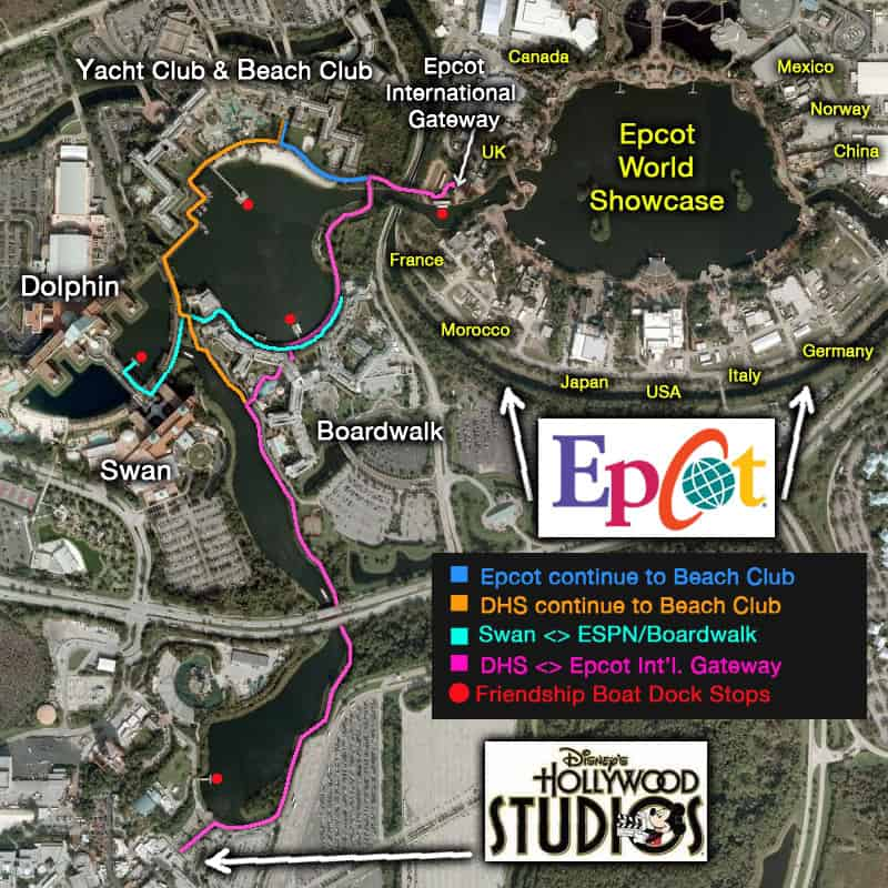 boardwalkaerialmap - Disney World for techie geeks
