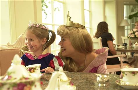 Grand Floridian Resort - Perfectly Princess Tea Party