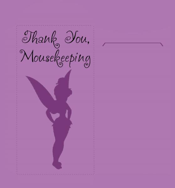 mousekeeping tip envelopes