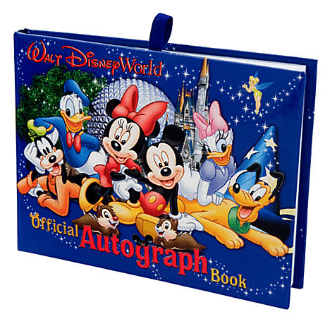 autographbook1 - Gift ideas for Disney World-bound families