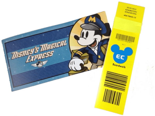 MagicalExpressLuggageTag1 600x450 - How Magical Express works at Disney World
