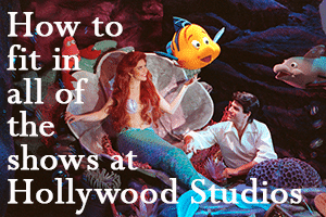 how do you fit in the shows at hollywood studios WDW Prep To Go podcast header image