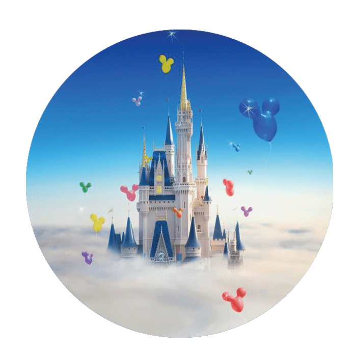 castlecircle - Build your own Disney theme park-style buttons