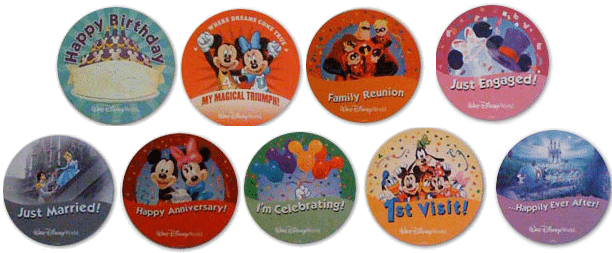 currentbuttons - Build your own Disney theme park-style buttons