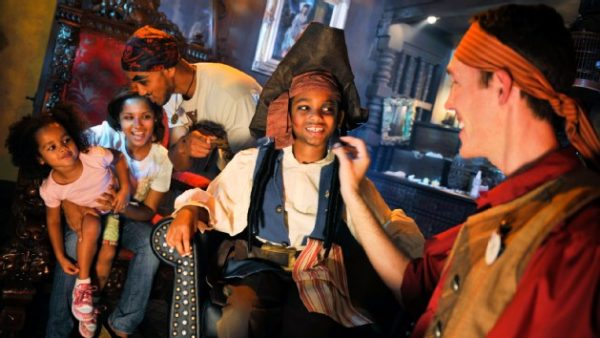 pirates league 00 600x338 - Our favorite ideas for celebrating a birthday at Disney World
