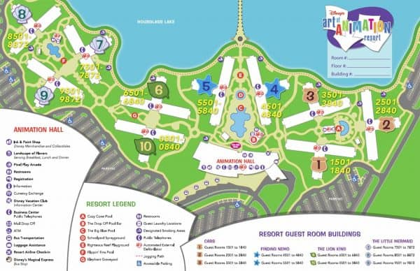"artofanimationmap 600x388 - 5 things that are ""worth it"" for most people going to WDW - PREP012"