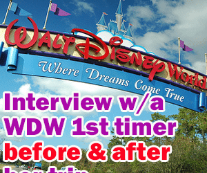 header1sttimeinterview 300x250 - A chat with a WDW first-timer before and after her trip - PREP014