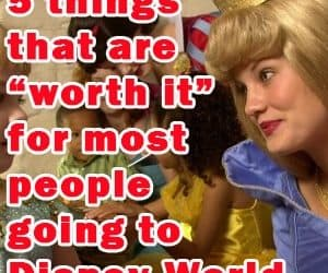 """headerthingsworthit 300x250 - 5 things that are """"worth it"""" for most people going to WDW - PREP012"""