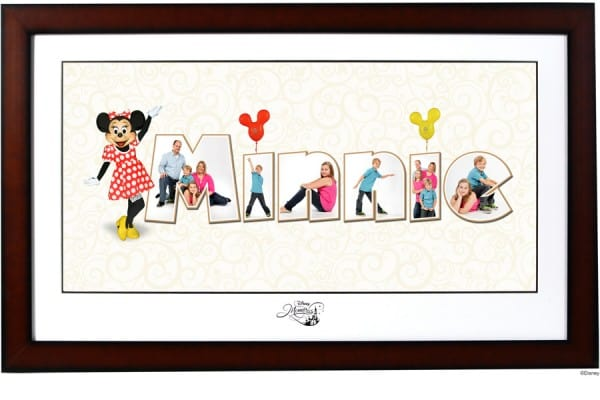 Letter Art Portrait4 - Photography ideas and tips for your Disney World trip