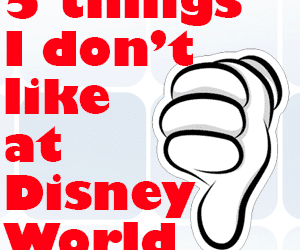 headerdontlike 300x250 - 5 things I don't like at Disney World - PREP016