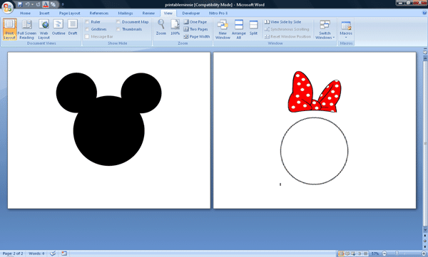 minniescreenshot - 3 DIY invitations to use during your Disney World trip