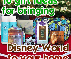 header10giftideaswdwathome 300x250 - 10 gift ideas to bring a little Disney World into your home