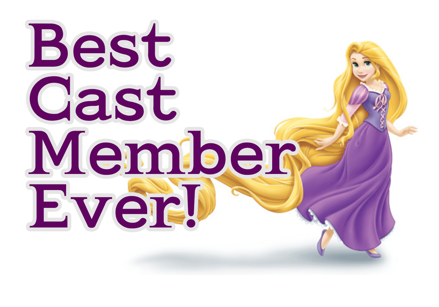 rapunzel - How to thank Disney World Cast Members