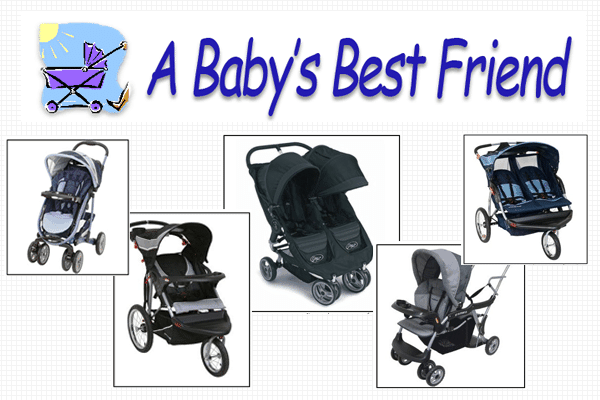 A Baby's Best Friend - Disney World strollers