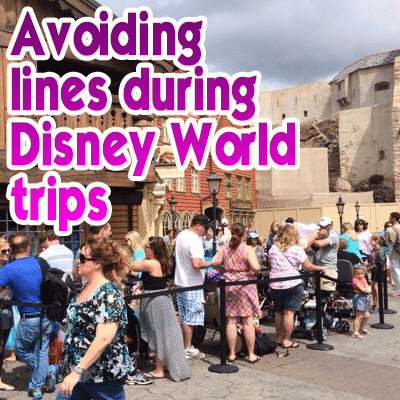 Avoiding lines during Disney World trips wdw prep to go podcast