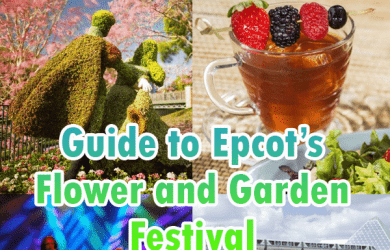 flowerandgardensquareheader 390x250 - Guide to Epcot's Flower and Garden Festival for 2018