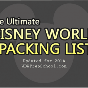 packing list formats
