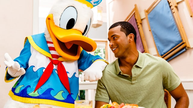 cape may cafe - Guide to all character meals at Disney World