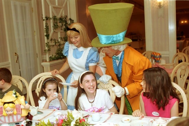 Grand Floridian Resort - Wonderland Tea Party