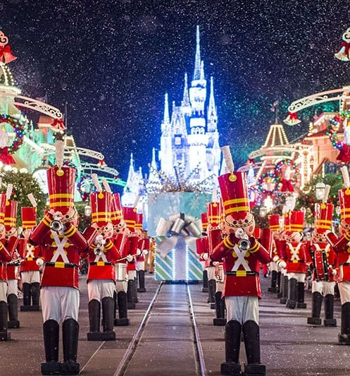 Toy Soldiers on Main Street at Magic Kingdom