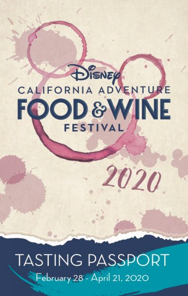 2020 food and wine festival at california adventure