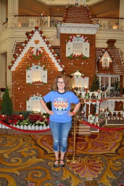 Gingerbread House at the Grand Floridian