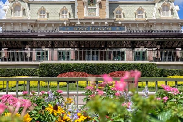 Magic Kingdom park hours train station