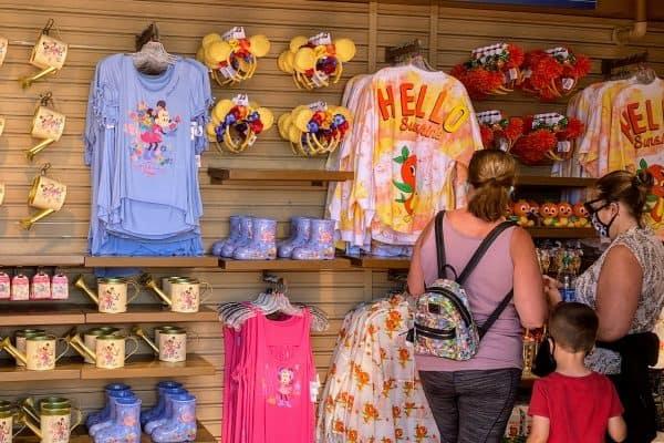 Flower and Garden merchandise