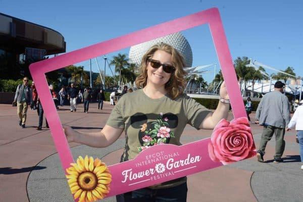 Flower and Garden Festival frame