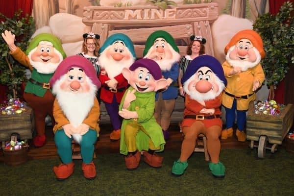 Seven Dwarfs at Halloween