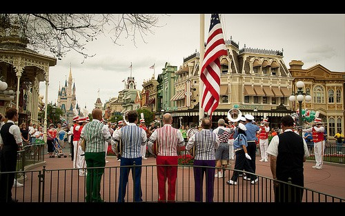 Disney's Human Element - Flag Retreat