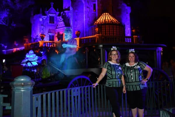 Haunted Mansion magic shot