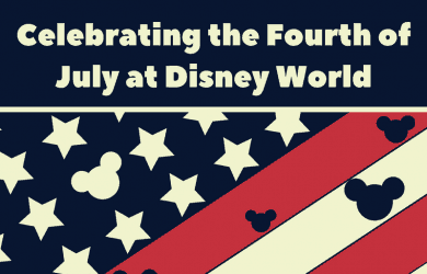 Celebrating the 4th of July at Walt Disney World