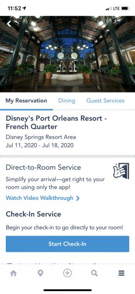 My Disney Experience My Resort
