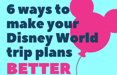 Plan a trip to Disney World