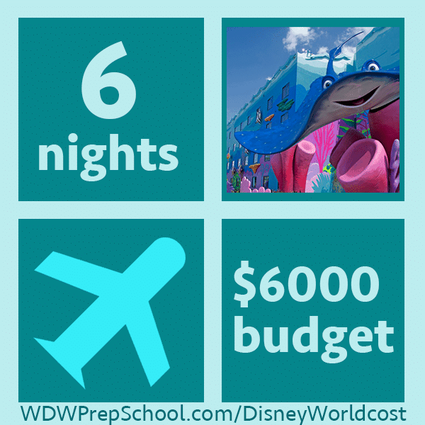 6000example2 - How much does it cost to go to Disney World? Example trips from $2,000-10,000.