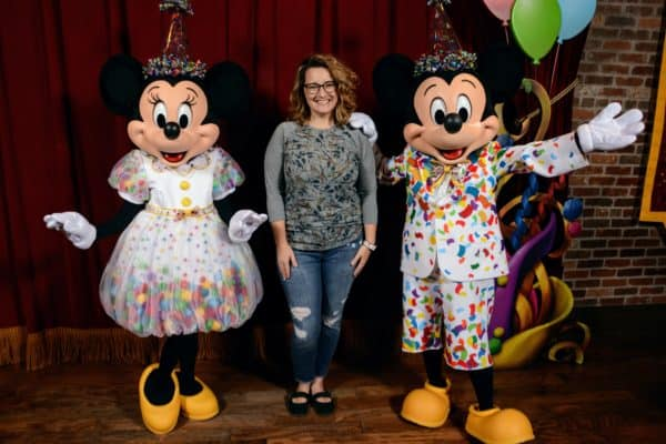 Mickey and Minnie Surprise Celebration