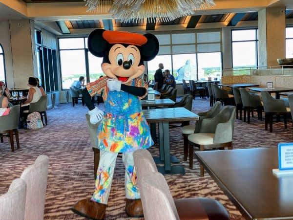 Mickey at Topolinos