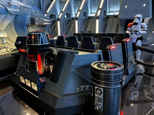 Rise of the Resistance ride vehicle