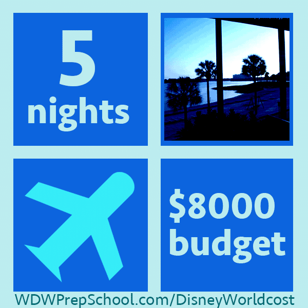 8000example1 - How much does it cost to go to Disney World? Example trips from $2,000-10,000.